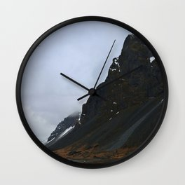 Land of Fire and Ice Wall Clock