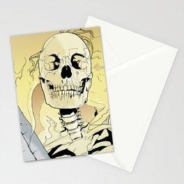 Skeleton on Fire Stationery Cards