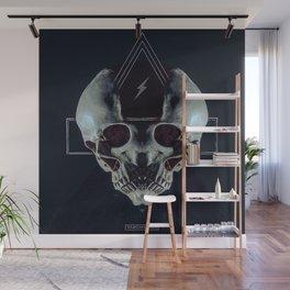 Triskull Wall Mural