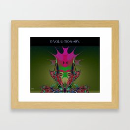 Evolutionary Framed Art Print