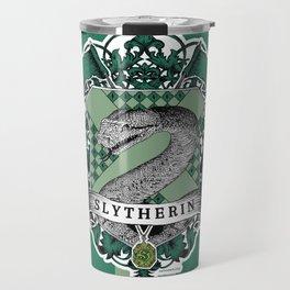 Slytherin Color Travel Mug