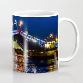 Raising bridges in St. Petersburg Coffee Mug