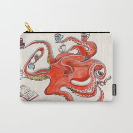 Olive the Octopus Barista Carry-All Pouch