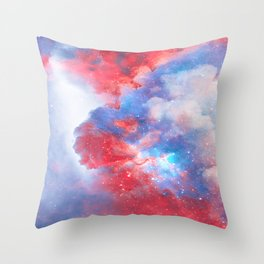 Stay with me between the Clouds and your Dreams Throw Pillow