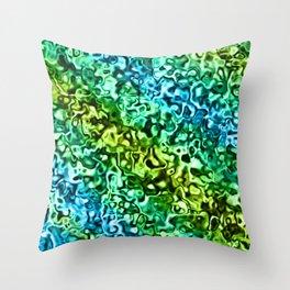 Seawaters Throw Pillow