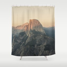 Half Dome III Shower Curtain