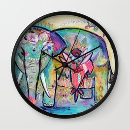 Love thy Self Wall Clock