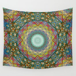 Geobloom Wall Tapestry