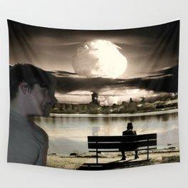 Atomic Bomb Boy Wall Tapestry