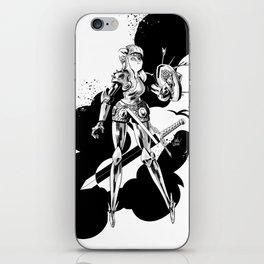 Lady Knight iPhone Skin