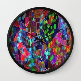 Colorful-11 Wall Clock