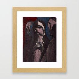 Threeiana Framed Art Print
