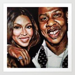 America's #1 Power Couple Art Print