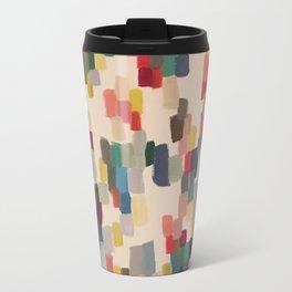 Colorful happy cheerful abstract painting Travel Mug