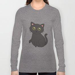 Stitch the Fat(ass) Cat Long Sleeve T-shirt