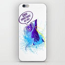 Cowardly Shark Karma iPhone Skin