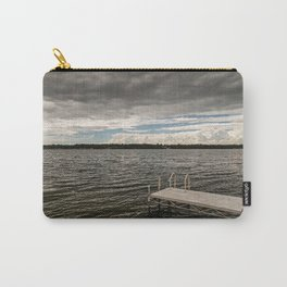 Stormy Sky Over Lake Carry-All Pouch
