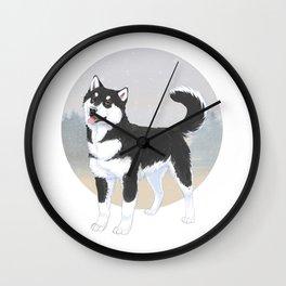 Husky // Malamute Wall Clock