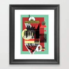 Berlin. Framed Art Print