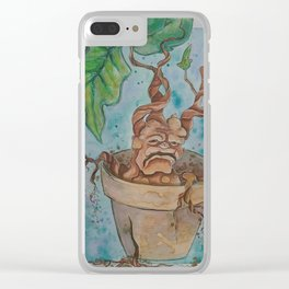 Mandrake Clear iPhone Case