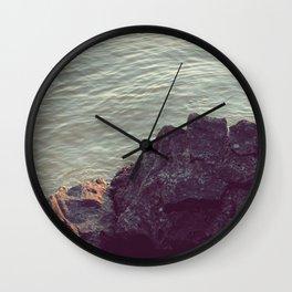 On the Rocks Wall Clock