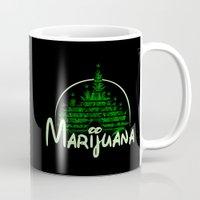 marijuana Mugs featuring Marijuana  by FandomizedRose