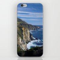 big sur iPhone & iPod Skins featuring Big Sur by Brie Anne Demkiw