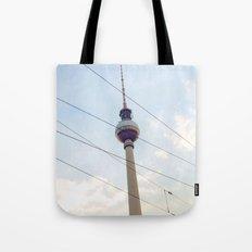 Berliner Fernsehturm Tote Bag