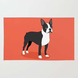 Boston Terrier 2 Rug