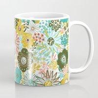 February Floral Coffee Mug