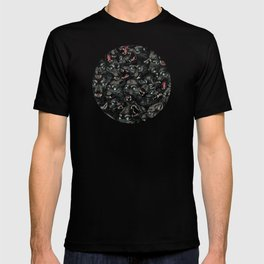 Wolf Pack Pattern T-shirt