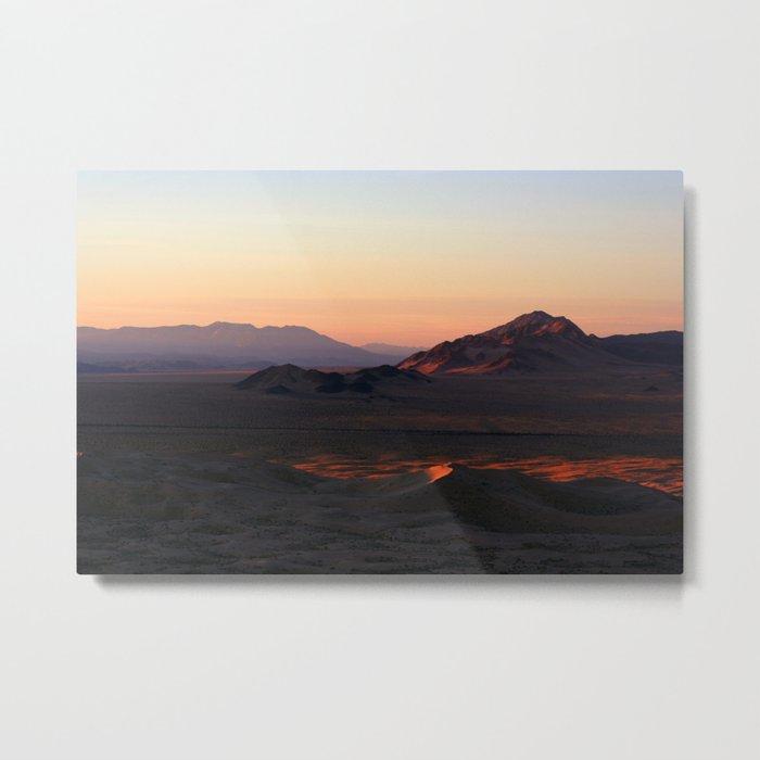 Kelso Mountains 1 Metal Print