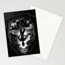 XII. The Hangman Tarot Card Illustration Stationery Cards