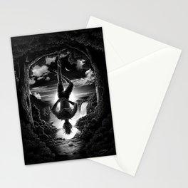 XII. The Hangman Tarot Card Illustration Stationery Cards