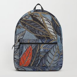 Feuilles Rouges II Backpack