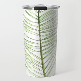 PALM ARECA - WHITE BACKGROUND Travel Mug