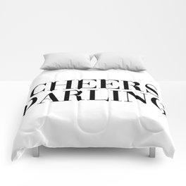 cheers darling Comforters