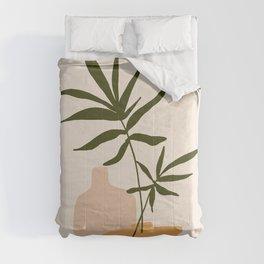 GIOIA DEI FIORI - the joy of flowers - Modern abstract art illustration Comforters