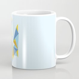 Ukraine Geometry Coffee Mug