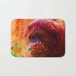 Abstract Animal - Orang Bath Mat