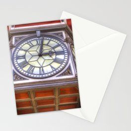 Paddington Station Clock Stationery Cards