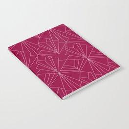 Art Deco in Raspberry Pink Notebook