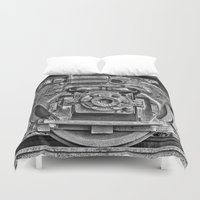 train Duvet Covers featuring Train by Cindi Ressler Photography