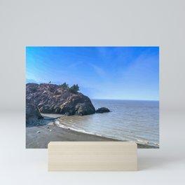 Let's Get Lost - Beluga Point Alaska Mini Art Print