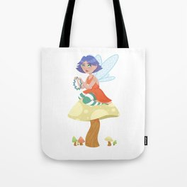 Fairy Flower Chains Tote Bag