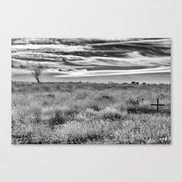 Unfrozen Demise Canvas Print