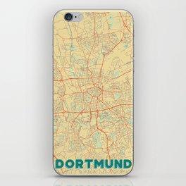 Dortmund Map Retro iPhone Skin