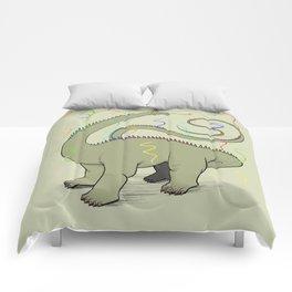 Diplodocus Rainbow Party Dino Comforters