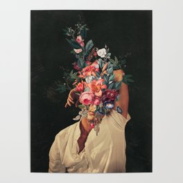 Roses Bloomed every time I Thought of You Poster