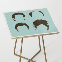 Seinfeld Hair Square Side Table